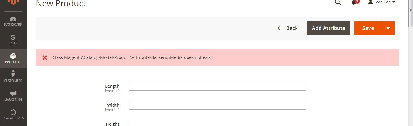 Backend-Media-does-not-exist