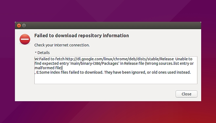 FAILED TO FETCH ERROR WITH GOOGLE CHROME